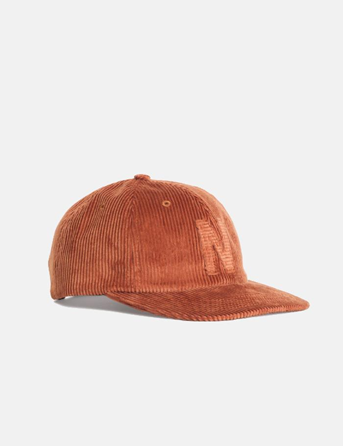 11cf7e87104 Norse Projects 6-panel Cap (corduroy) in Brown for Men - Lyst