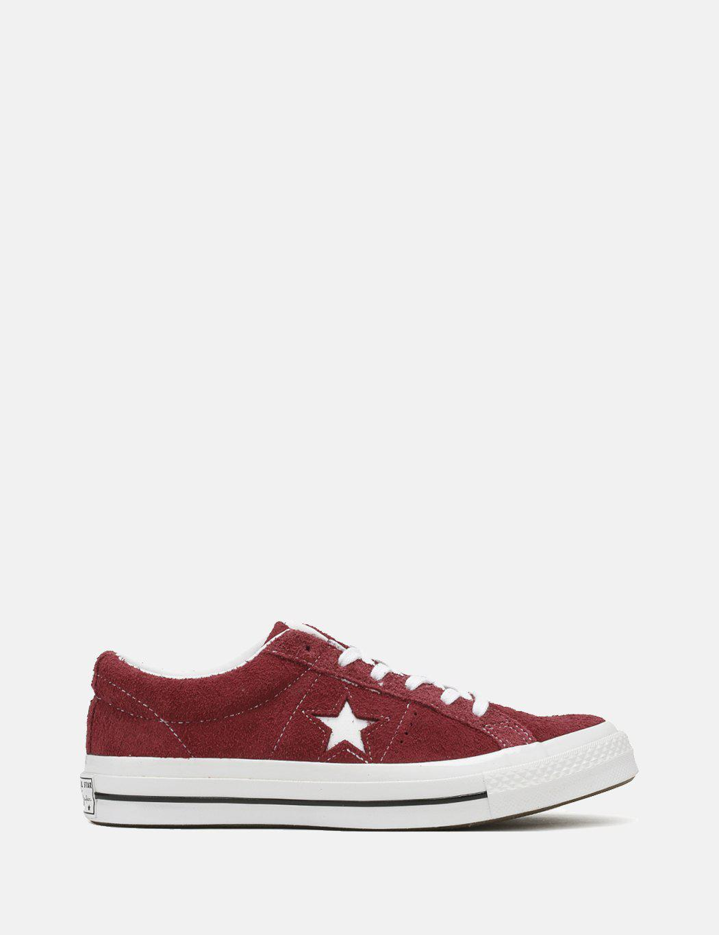 b26cc5fead40 Lyst - Converse Unisex Adults  Lifestyle One Star Ox Suede Fitness ...