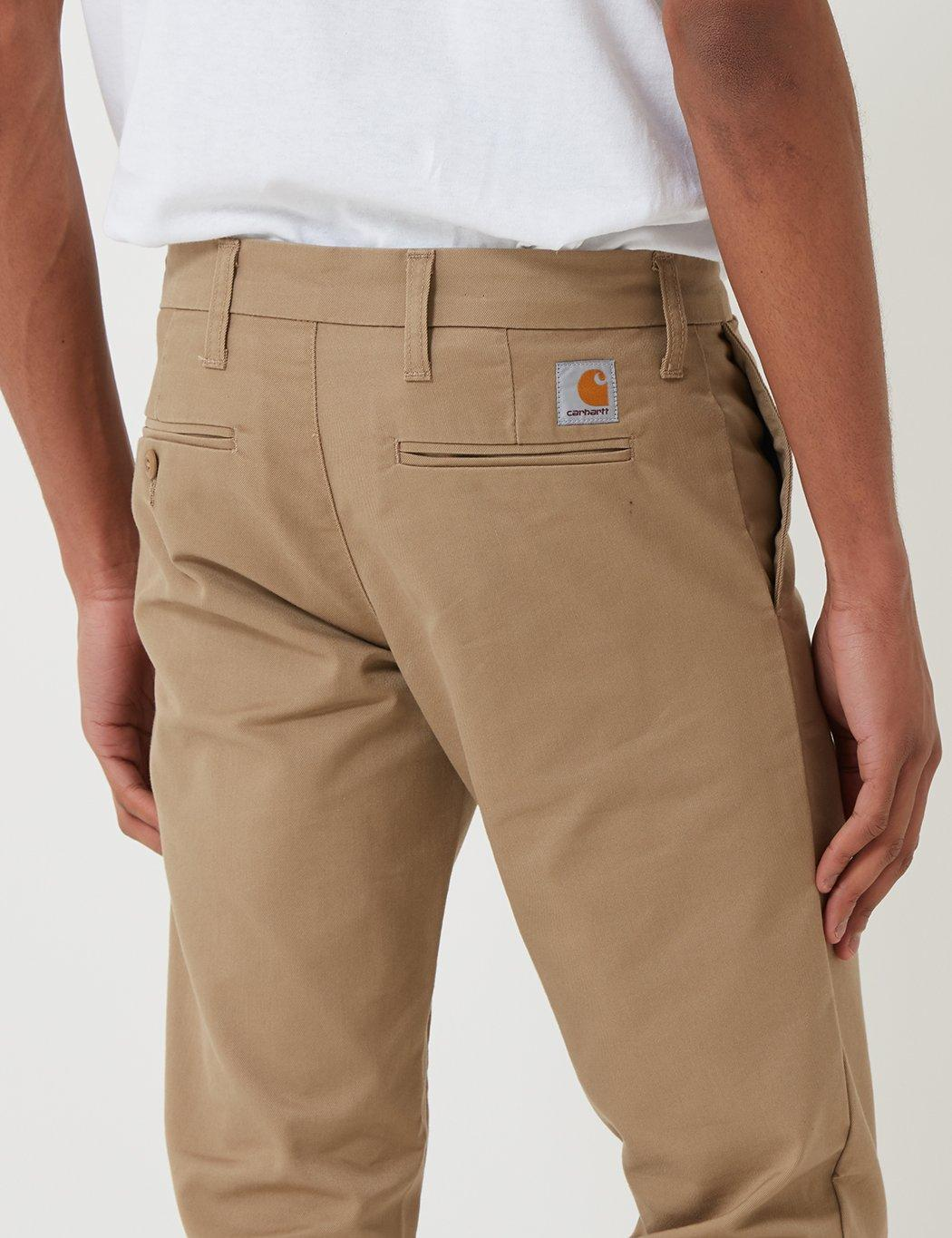 c5a4ab98 Carhartt Sid Pant Chino (slim) in Natural for Men - Lyst