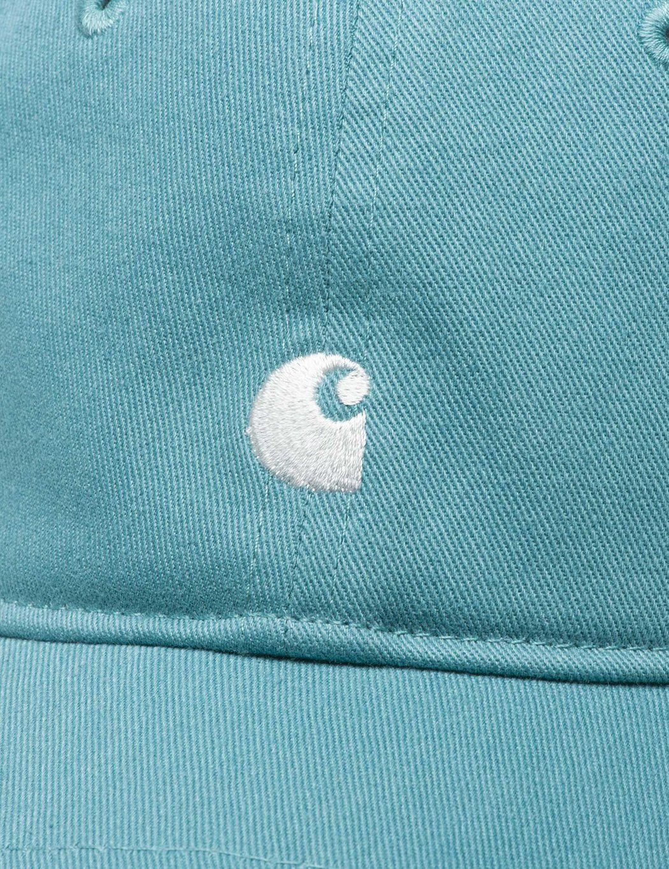 9824f471b16 Lyst - Carhartt Madison Logo Dad Cap in Blue for Men