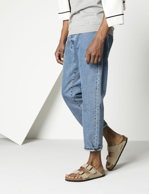 Birkenstock Lyst Sandals Natural For Men Arizona SuederegularIn USVpqzM