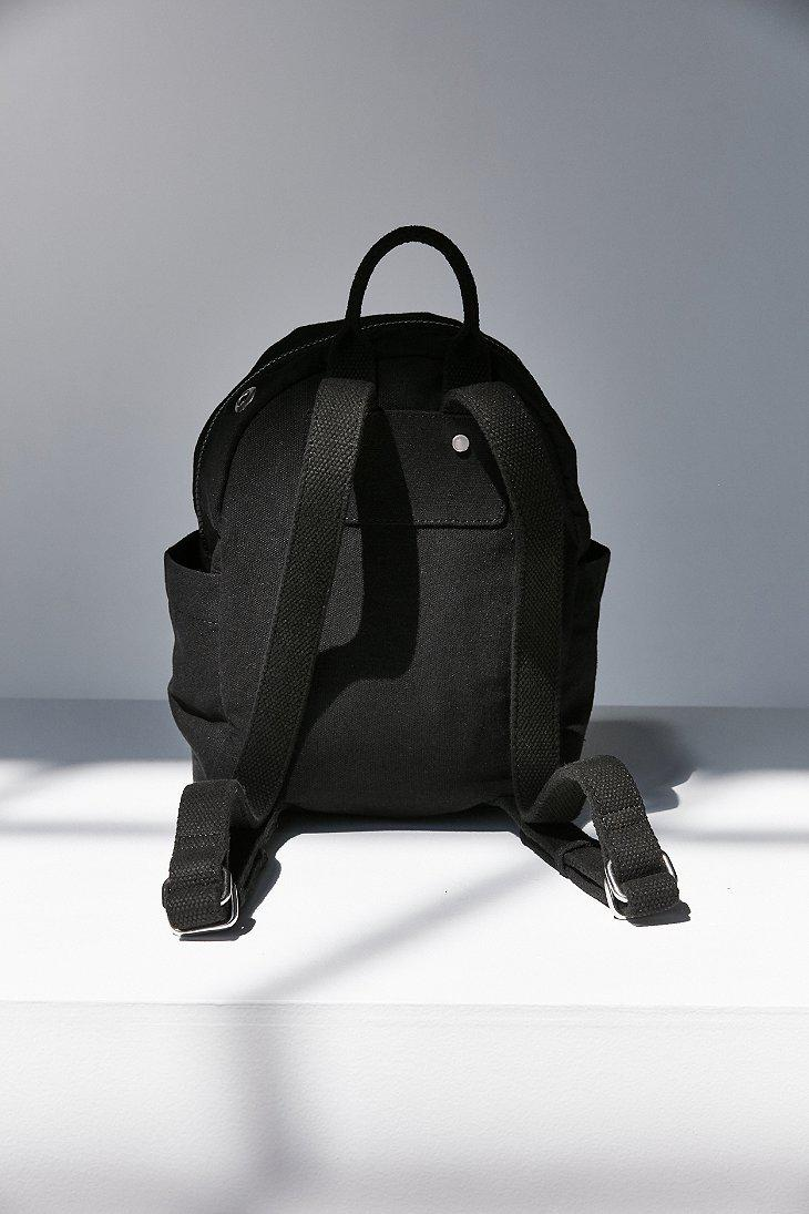 cb29fe041794 Black Canvas Backpack