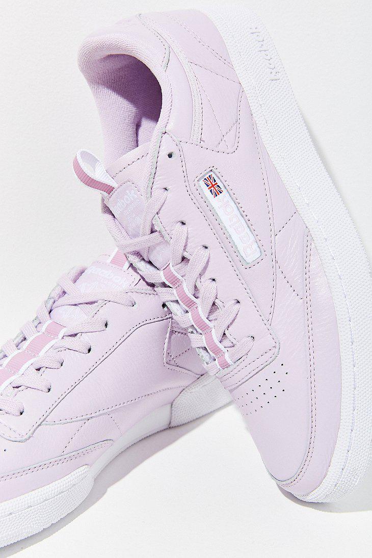 Lyst - Reebok Reebok Club C 85 Rt Sneaker in Purple fa3936f28