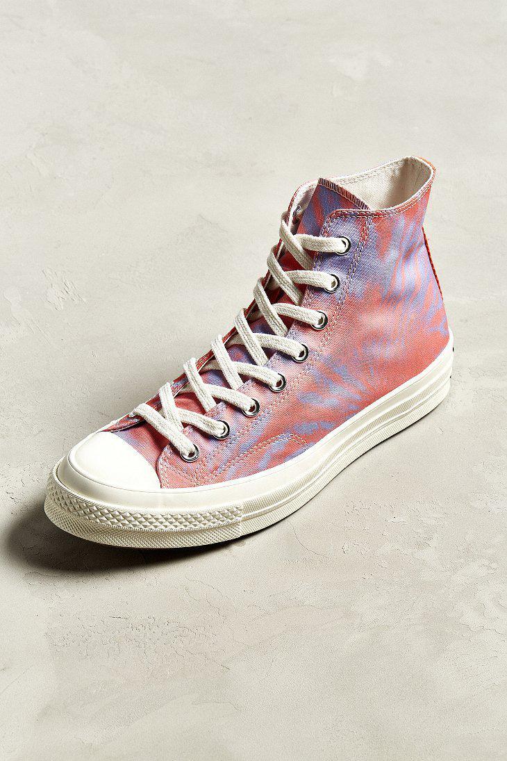 e2e60856c497 Lyst - Converse Converse Chuck Taylor  70s Tie-dye High Top Sneaker ...