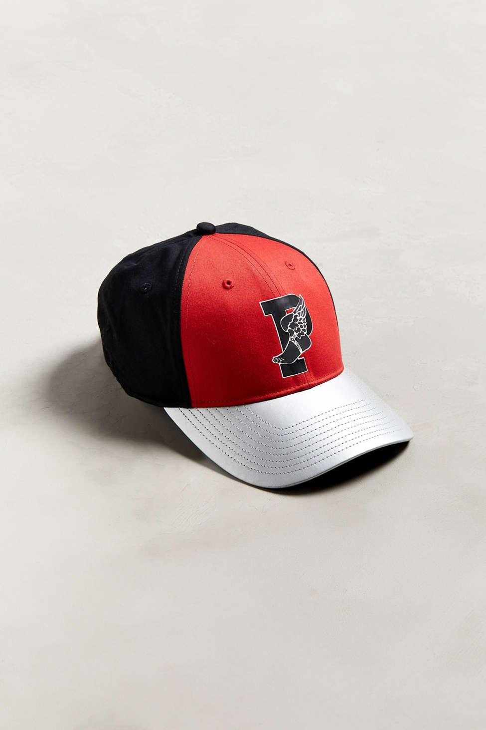 aab80cbfe97 Lyst - Polo Ralph Lauren P-wing Classic Sport Baseball Hat in Red ...