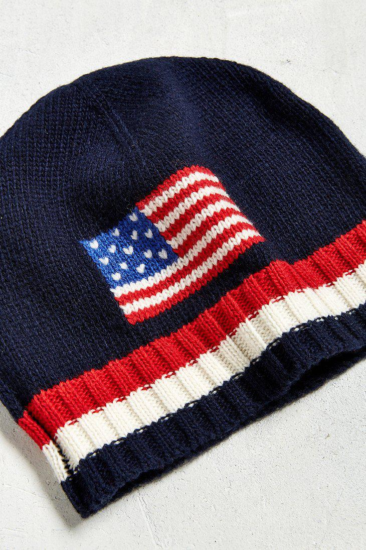 2244940ffde Polo Ralph Lauren American Flag Beanie - Cairns Local Marketing