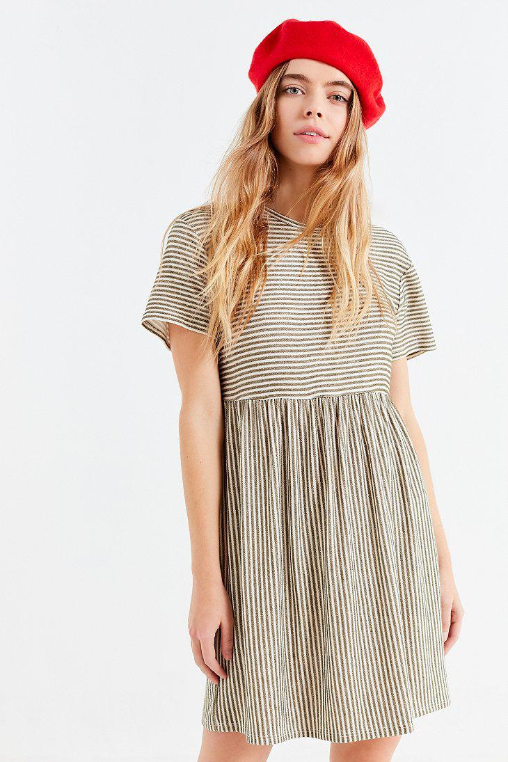 Lyst Urban Outfitters Uo Babydoll T Shirt Dress