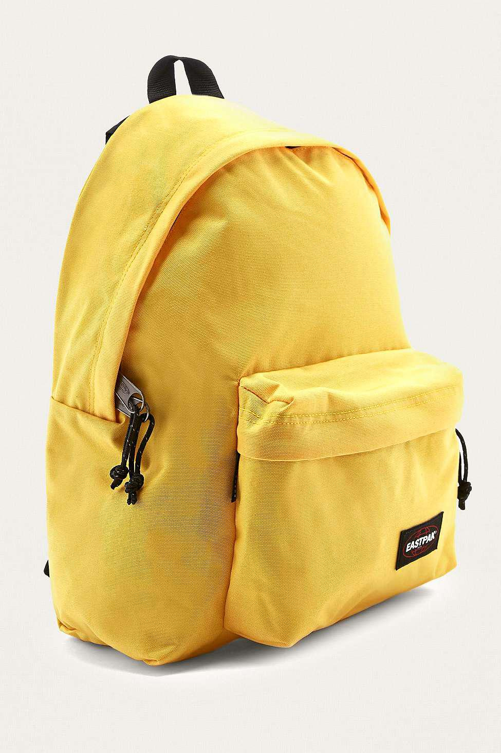 6abc10458 Eastpak Padded Pak'r Flexible Yellow Backpack - Womens All in Yellow ...