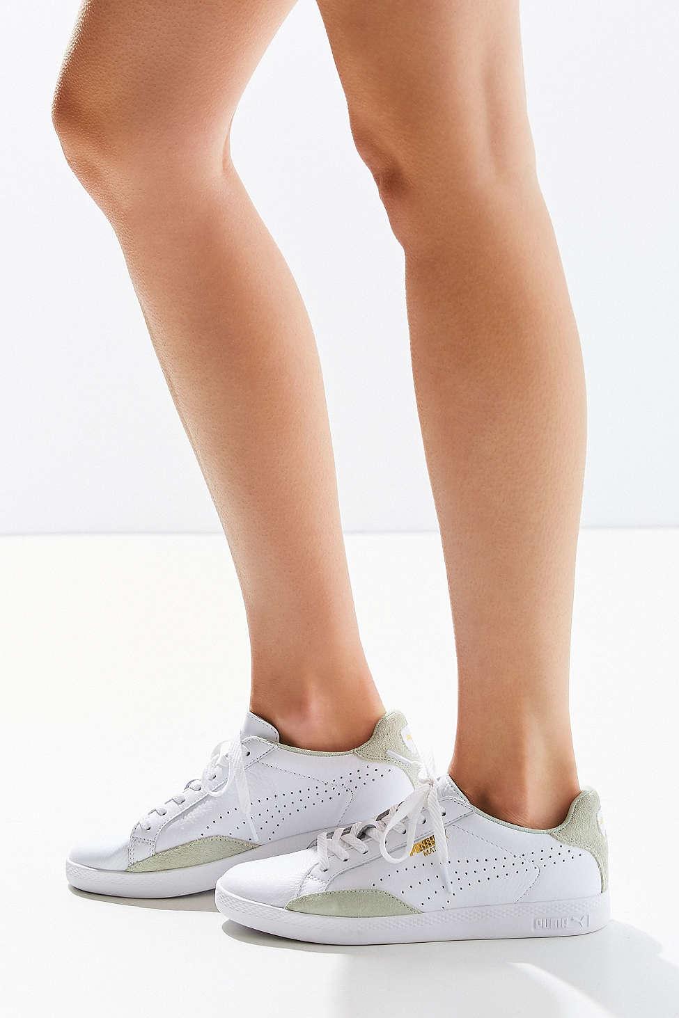 494828a3d21e Lyst - PUMA Match Lo Basic Sport Sneaker in Green