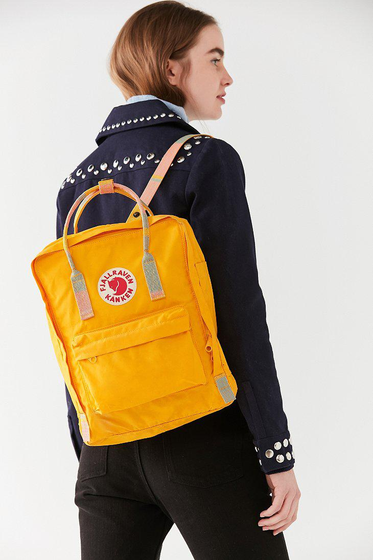 f6ad14768df0 Lyst - Fjallraven Kanken Classic Warm Yellow Backpack in Yellow