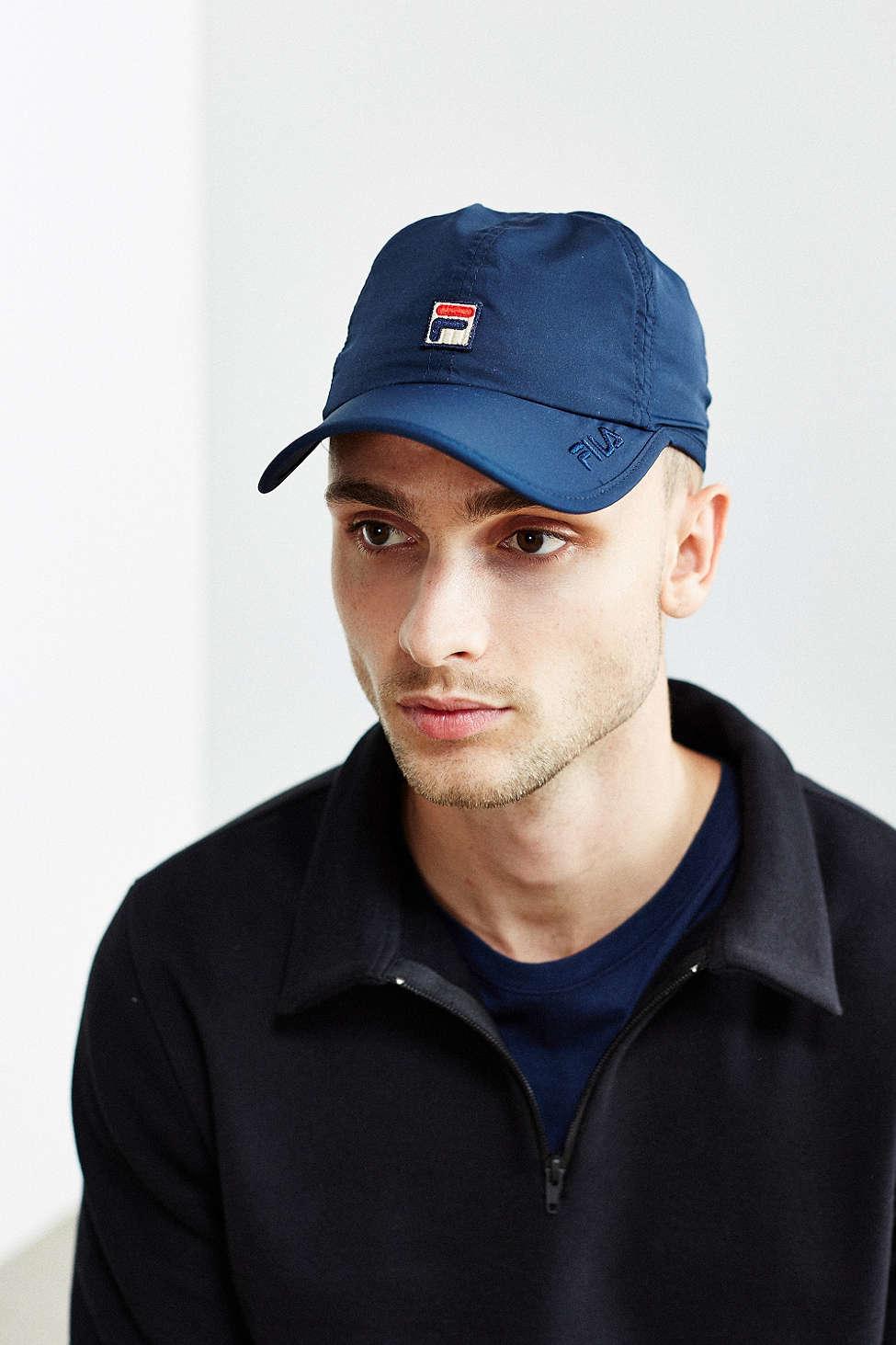 5dd0f4849ad Lyst - Fila Runner Baseball Hat in Blue for Men