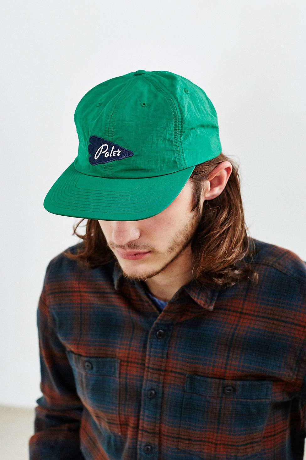 Lyst - Poler Coastal Floppy Baseball Hat in Green for Men 5362622153b