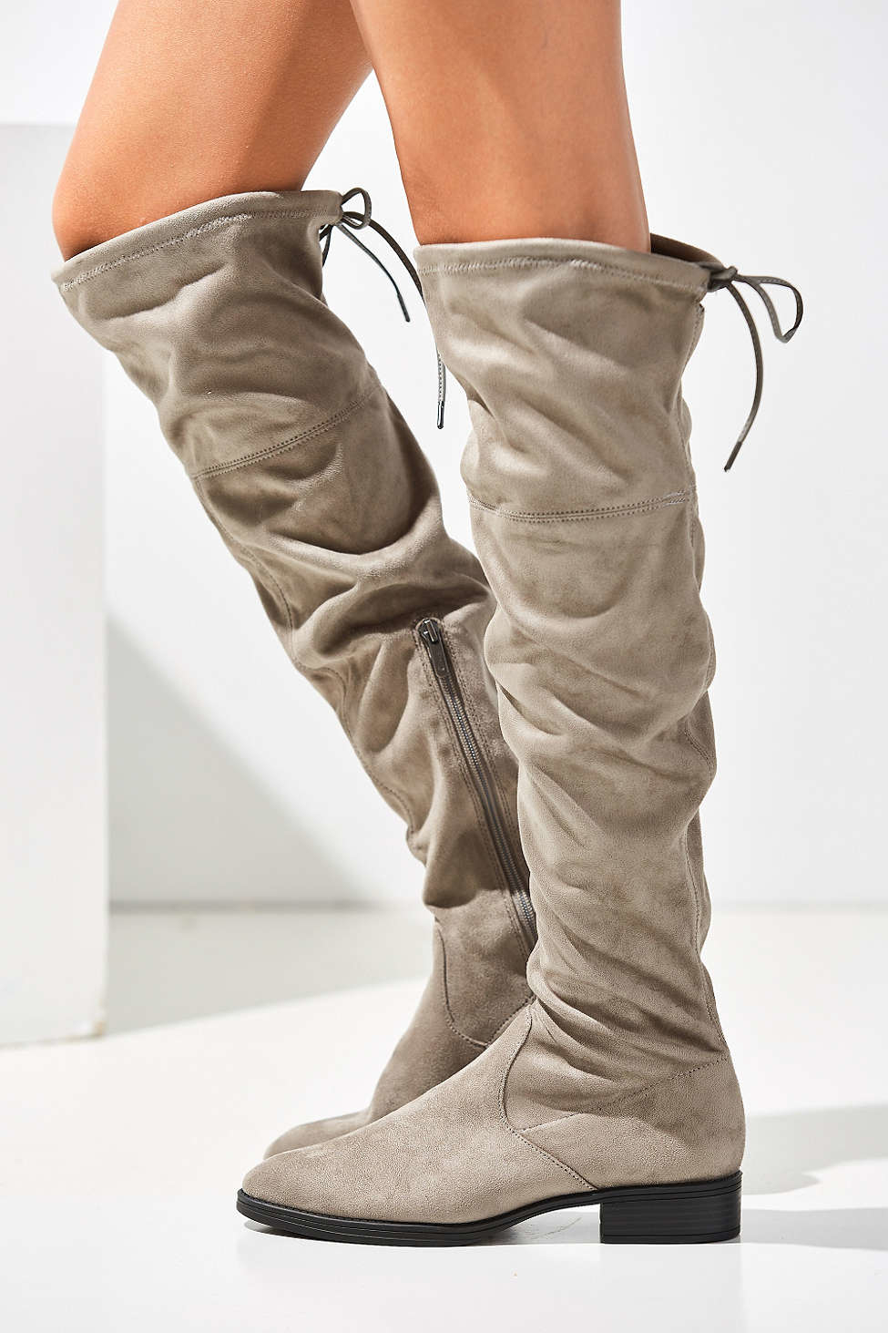 097048f2197ab Lyst - Circus by Sam Edelman Peyton Over-the-knee Boot in Gray