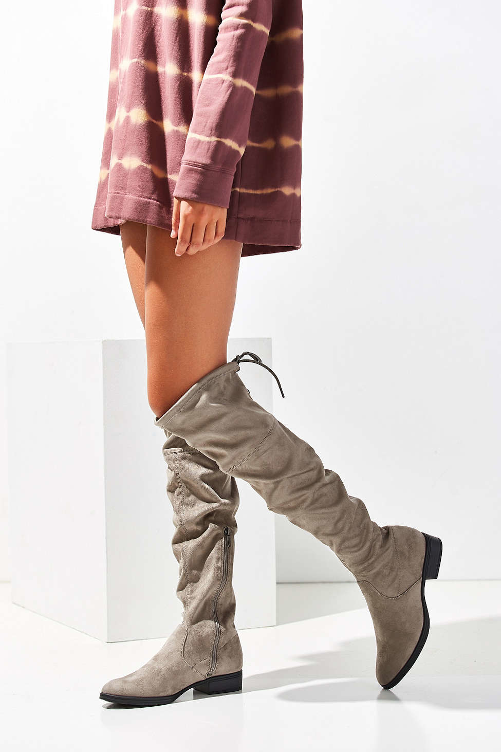 25f9ad93e530e3 Lyst - Circus by Sam Edelman Peyton Over-the-knee Boot in Gray