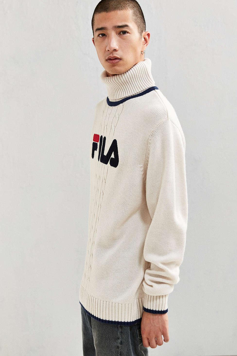 a4017a779fc1 Gallery. Previously sold at  Urban Outfitters · Men s Ribbed Turtlenecks Men s  Roll Neck Sweaters ...