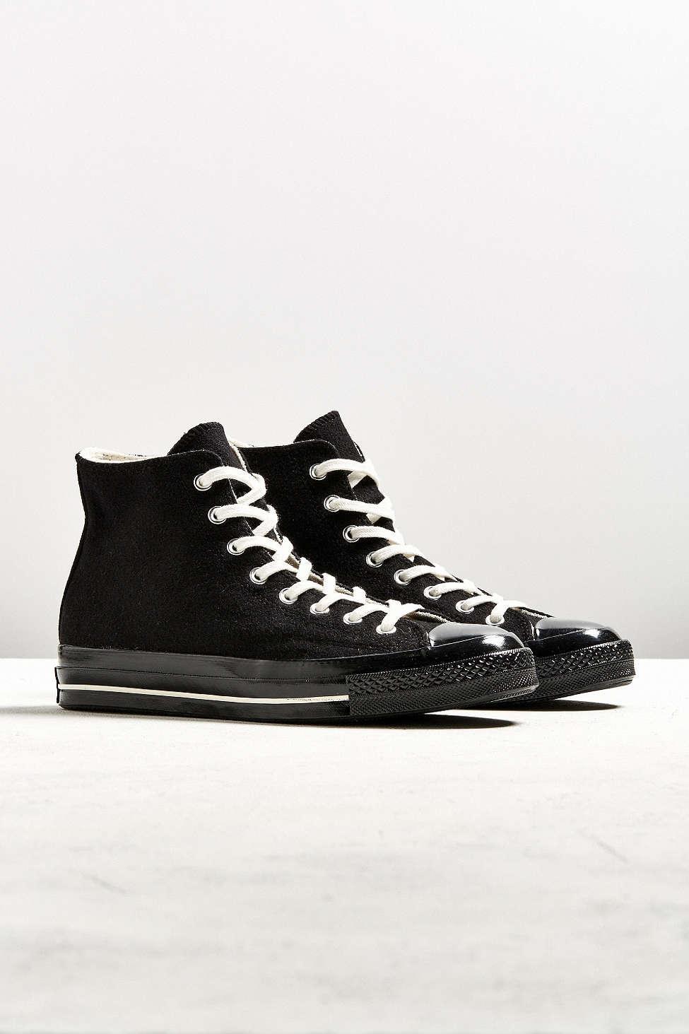 6605323f839b Lyst - Converse Chuck Taylor All Star  70 Team Wool Sneaker in Black ...