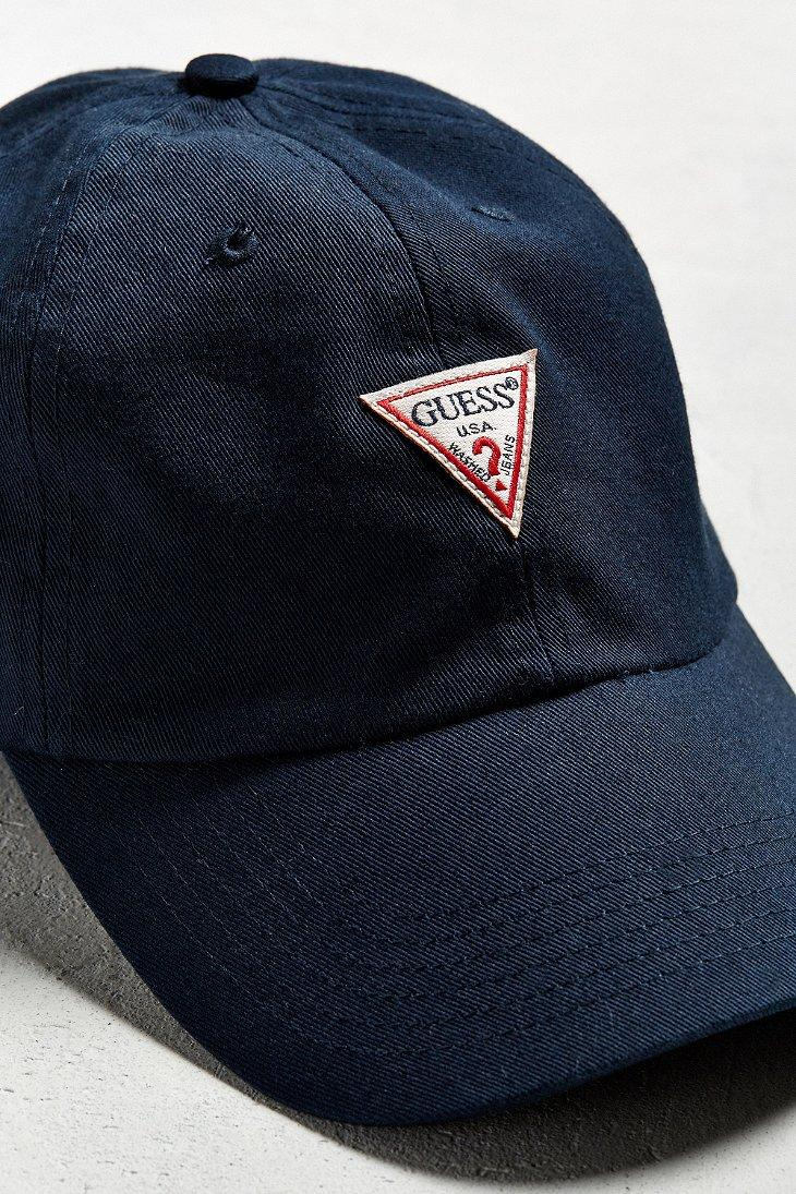 Lyst - Guess Baseball Hat in Blue for Men 2e2ca1f1172