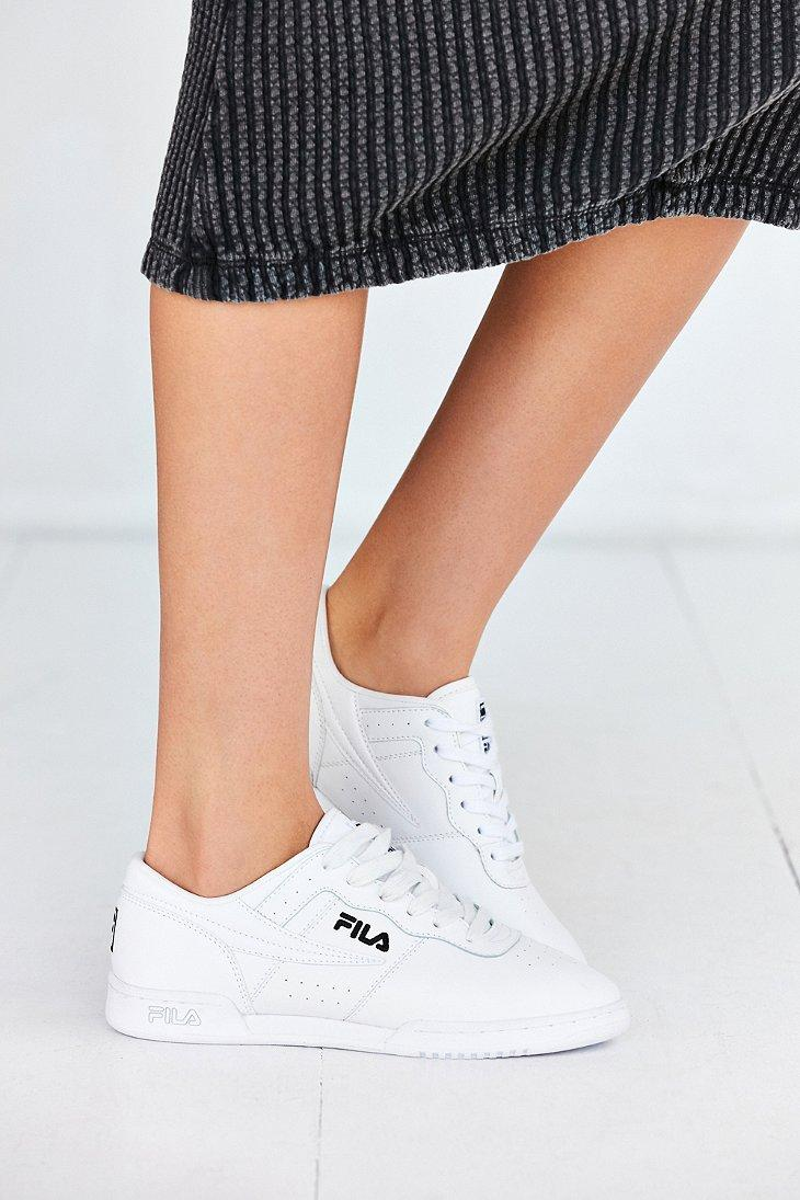 purchase cheap 2c150 f777c Fila Original Fitness Sneaker in White - Lyst