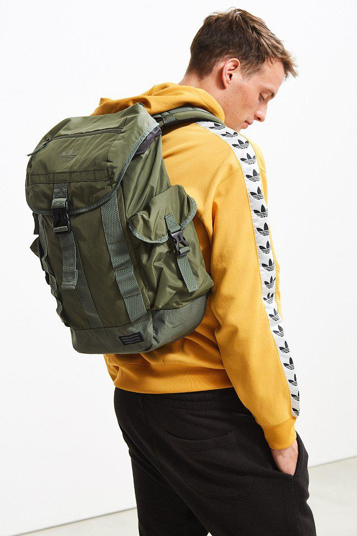 c88bbf6305f7 Adidas Originals - Green Originals Urban Utility Backpack for Men - Lyst