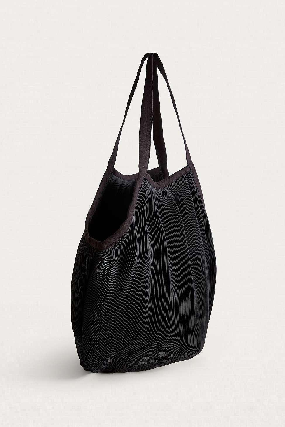 6888698381 Urban Outfitters Plisse Pleated Shopper Tote Bag - Womens All in ...