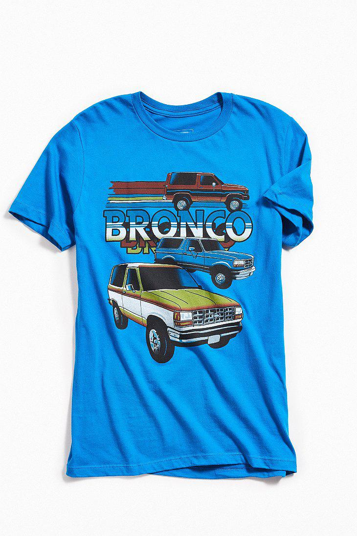 Lyst - Urban Outfitters Ford Bronco Tee in Blue for Men e3455e9cb