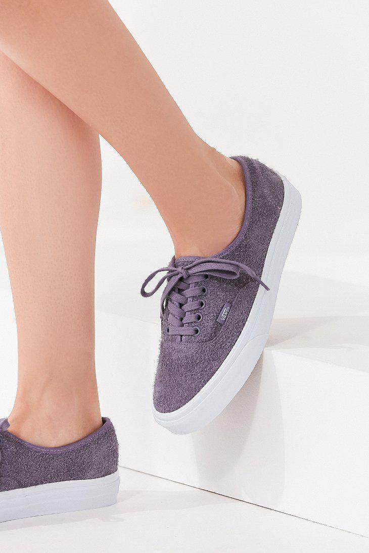 vans violet sauede shoes