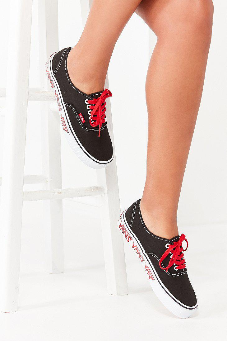 Vans Black Sketch Sidewall Authentic sneakers sale brand new unisex discount shopping online clearance online free shipping new arrival zpAuZR