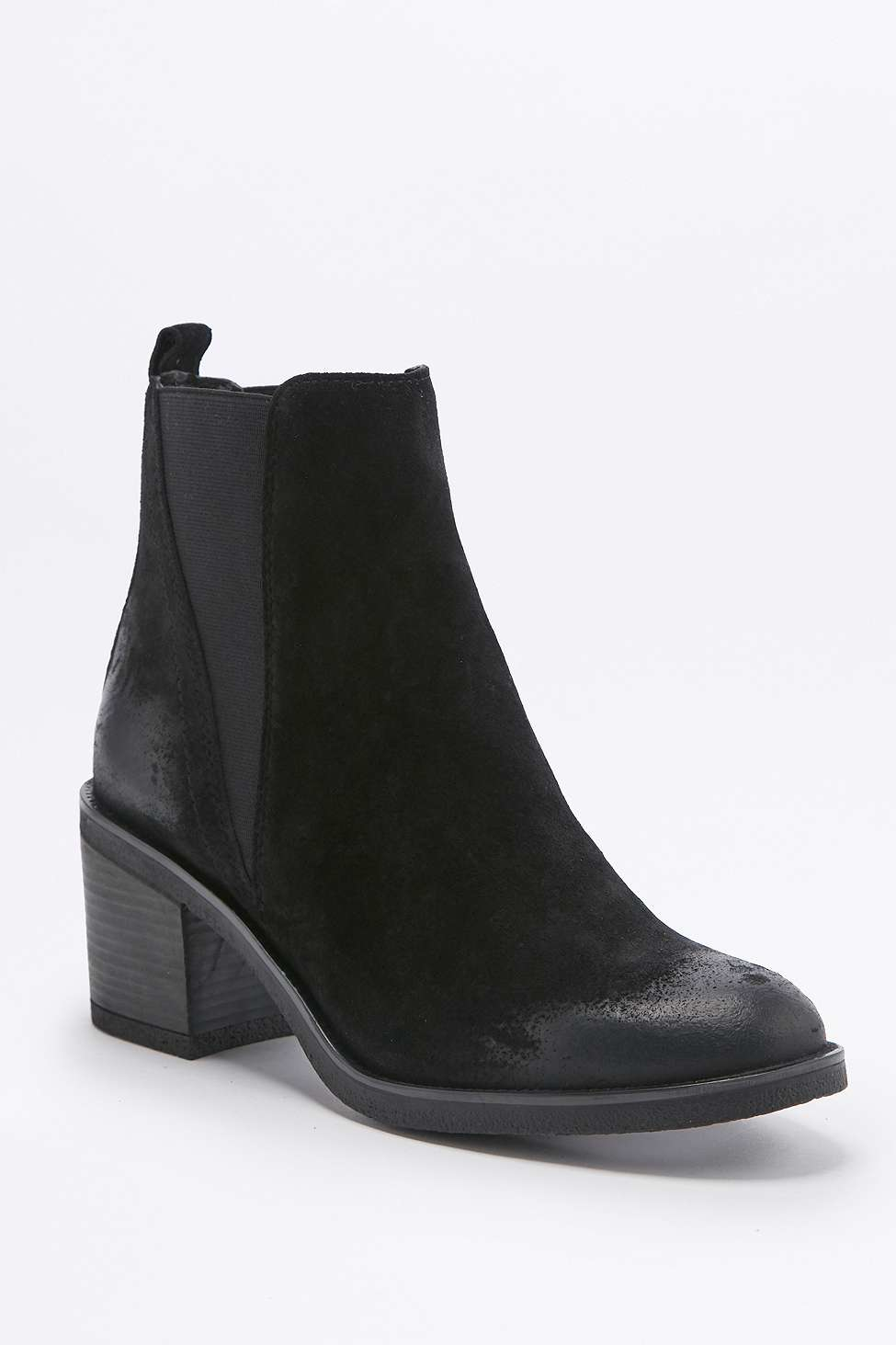 Nisolo Chelsea Boot in Black with Black Heel - Womens Size 8 - Used See more like this Winter Women Chelsea Chunky Shoes Ankle Boots Platform Block High Heels Zipper New (Other).