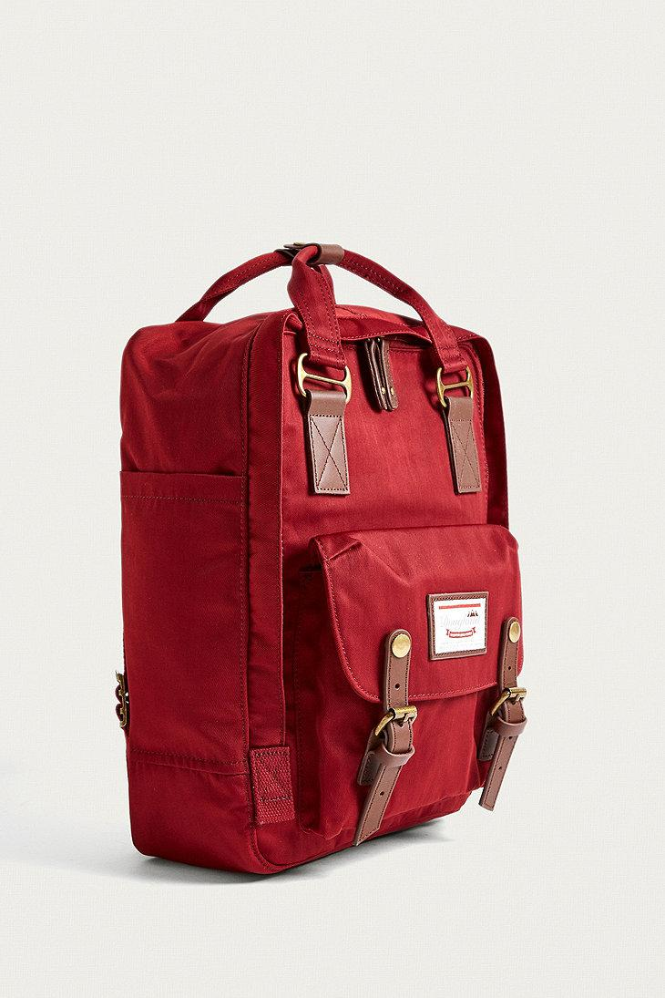92317c50e8d Doughnut Macaroon Wine Backpack in Red - Lyst