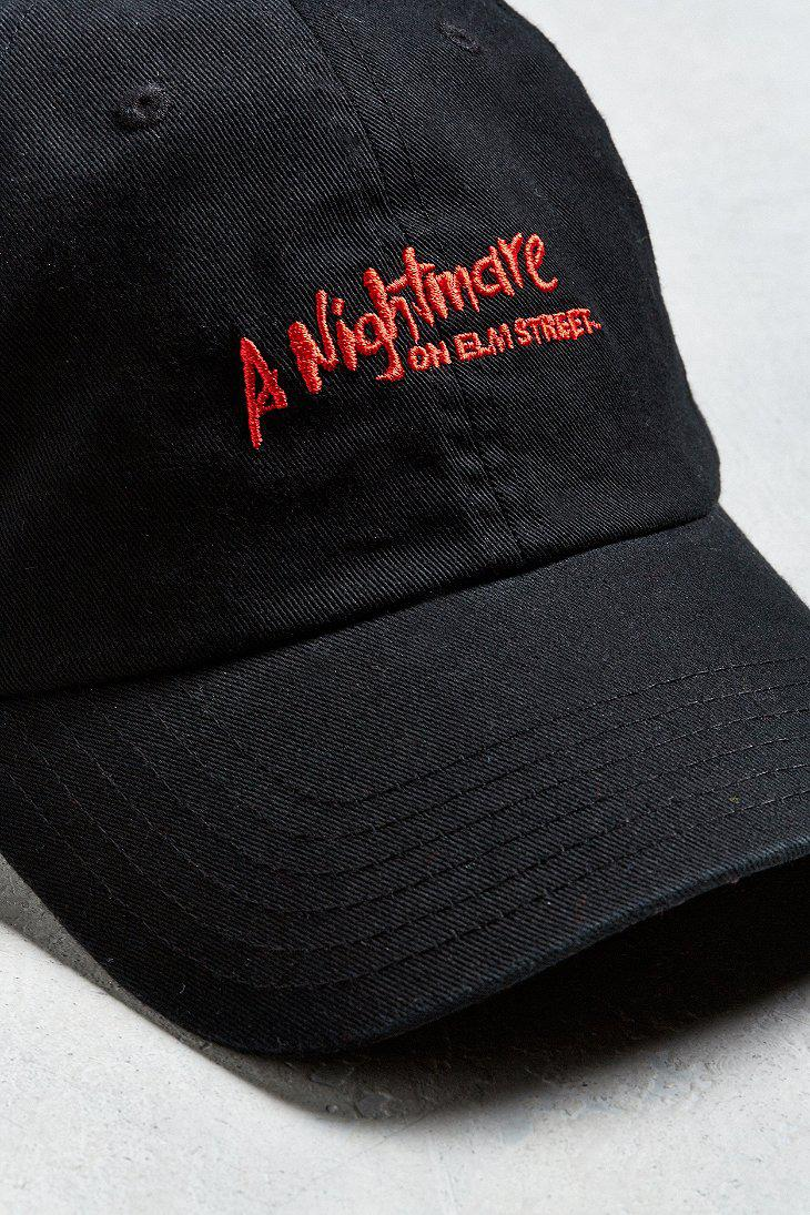 Lyst - Urban Outfitters Nightmare On Elm Street Dad Hat in Black for Men 0a03ca02a1bf
