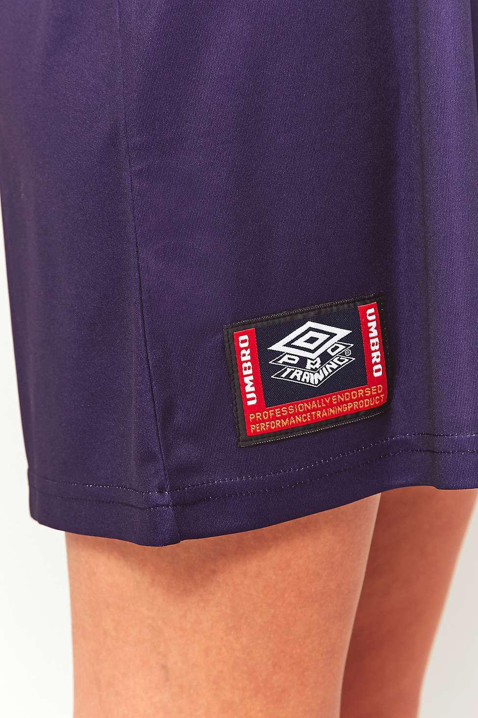 b75b997e33 Umbro Logo Jersey Tank Dress - Womens M in Blue - Lyst