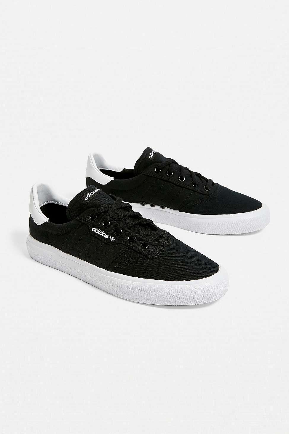b2327d068b600 adidas Originals Black 3mc Skate Trainers in Black - Lyst