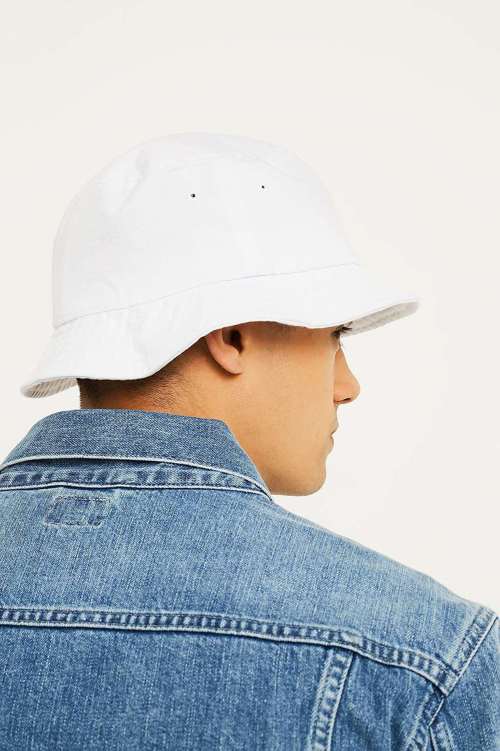 Obey Respect White Bucket Hat - Mens All in White for Men - Lyst 2bd9d09ada06