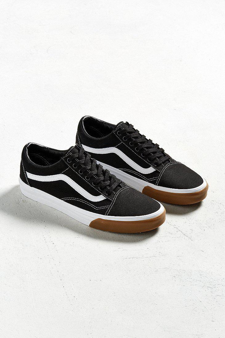 e7b7817a7488 Lyst - Vans Vans Old Skool Gum Sole Sneaker in Black for Men