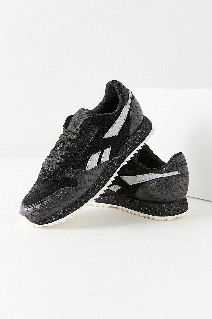 da3f68880cd4a4 Reebok Reebok Classic Suede Ripple Sneaker in Black for Men - Lyst
