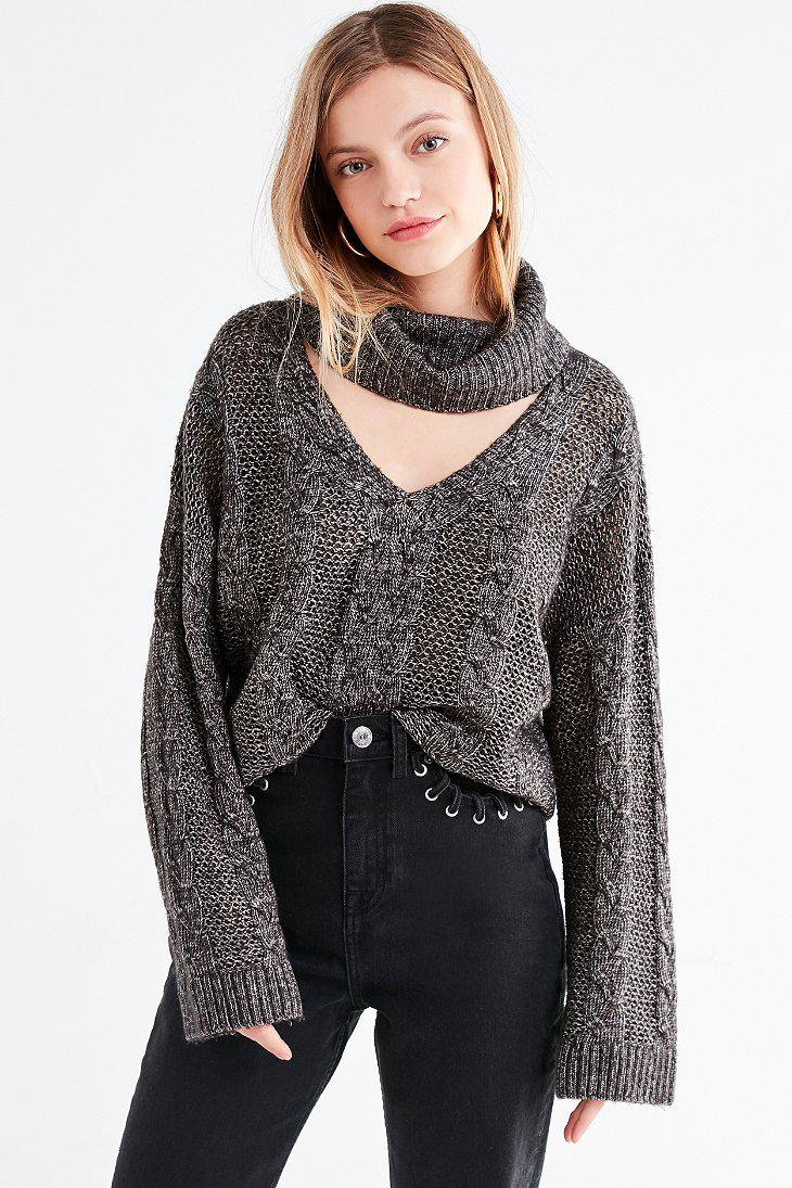 a613bb9b6 Gallery. Previously sold at  Urban Outfitters · Women s Cable Knit Sweaters  ...