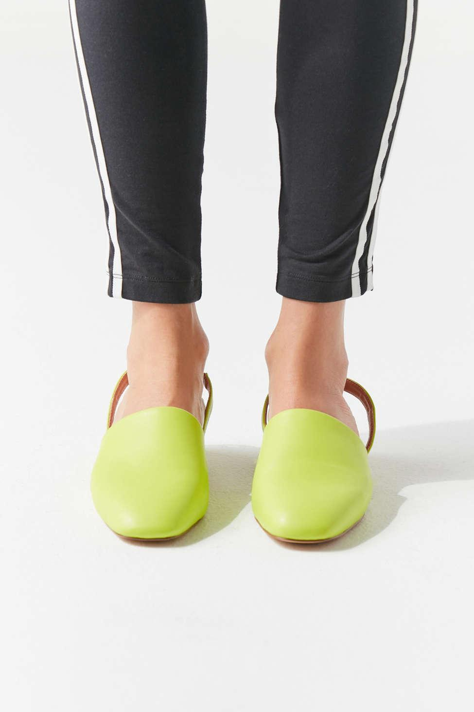 001f7a7ff5099 Lyst - Urban Outfitters Uo Dana Slingback Mule in Green - Save 41%
