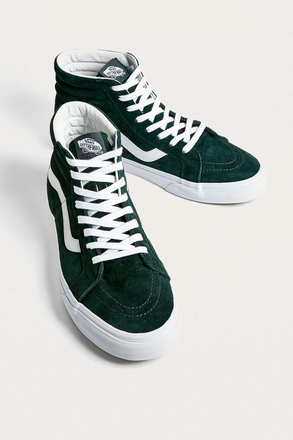 Vans hi spruce suede trainers mens uk in green for men lyst jpg 975x1463 Vans  authentic e823d54ba