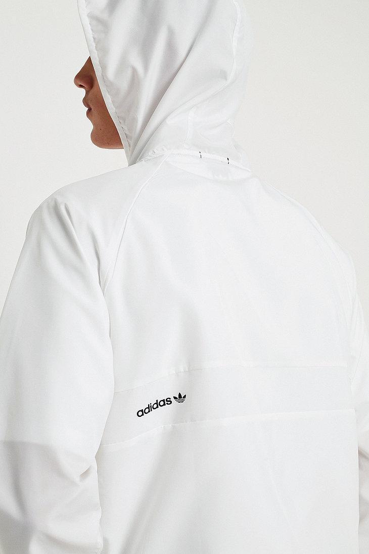 adidas originali climalite bb bianco antivento giacca bianca per