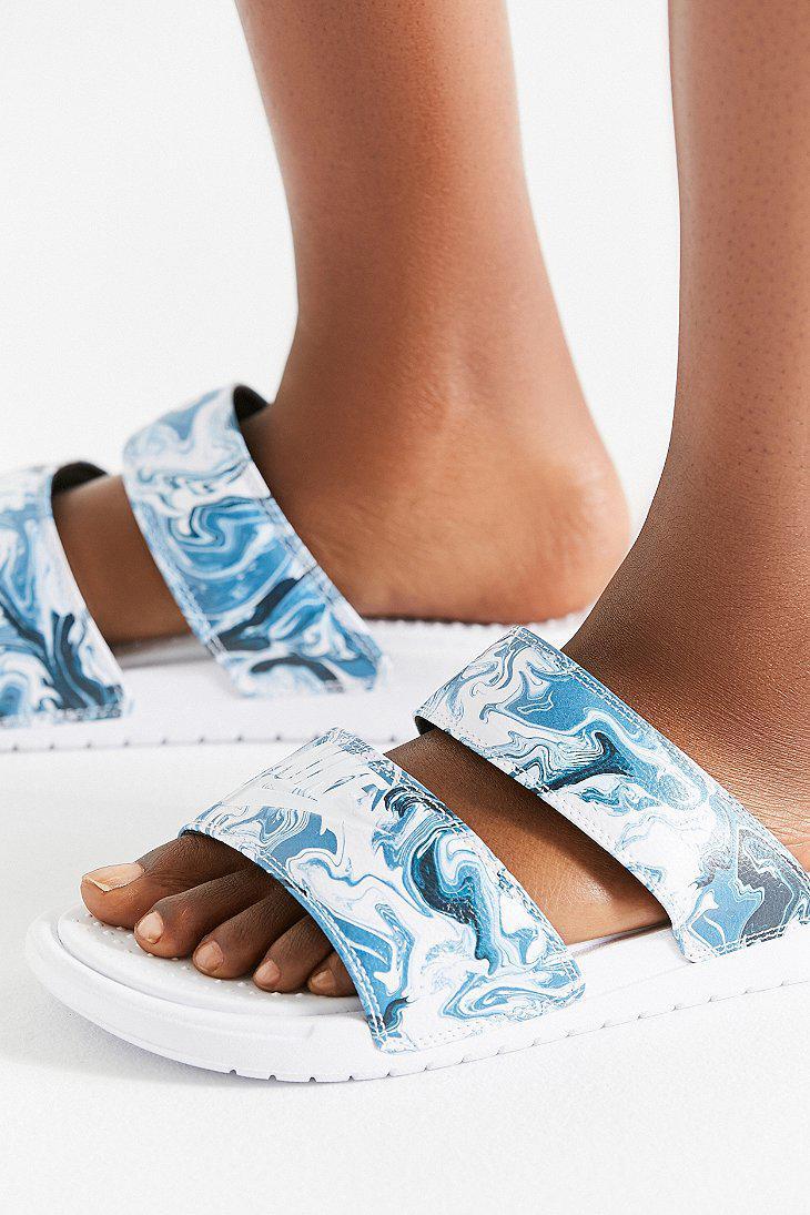 7319053c0612 Lyst - Nike Nike Solar Benassi Duo Ultra Slide in Blue