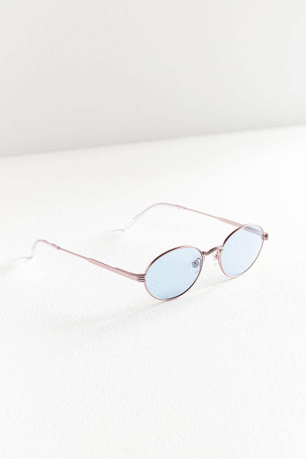 4f5ffaa09399 Lyst - Crap Eyewear The New Riddim Round Sunglasses in Pink
