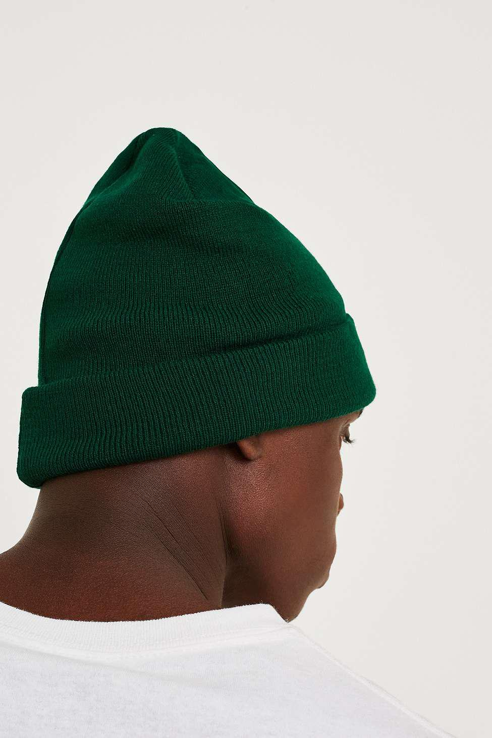 7165de0d80d Olive Green Beanie Urban Outfitters