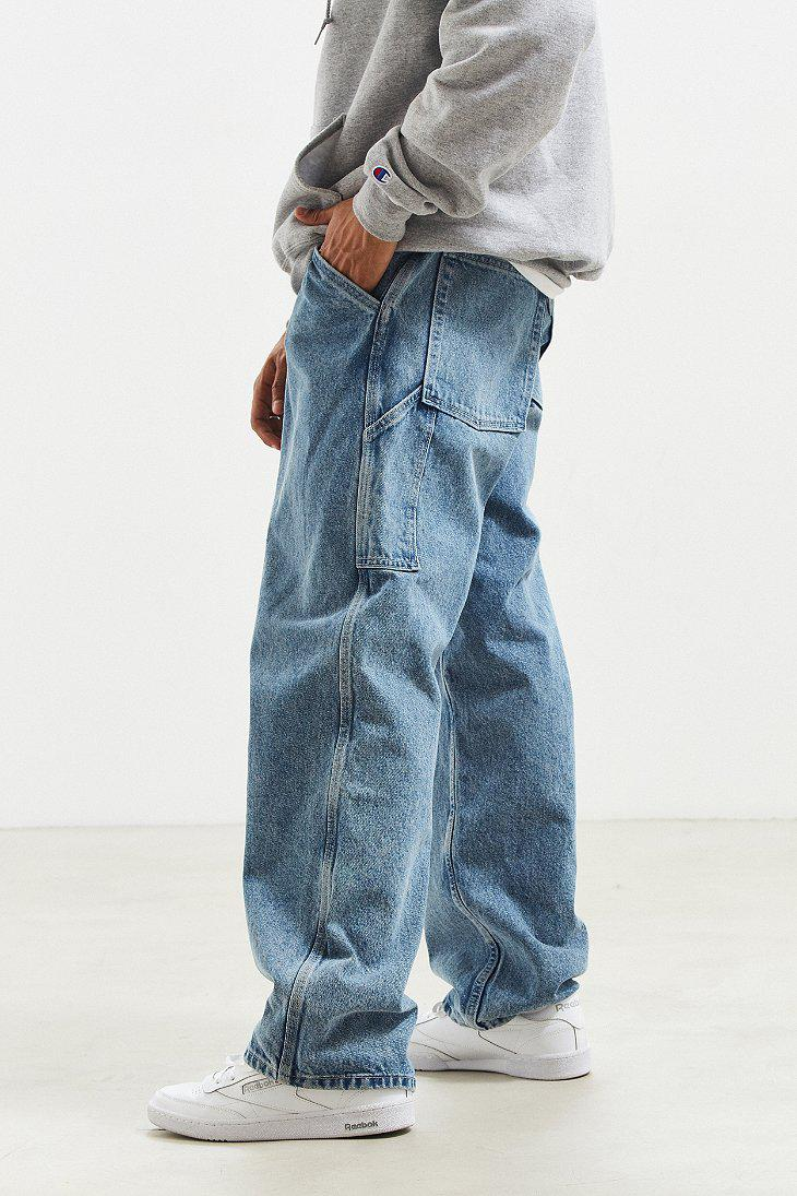 3bc2e381 Levi's Levi's Silvertab Carpenter Baggy Jean in Blue for Men - Lyst
