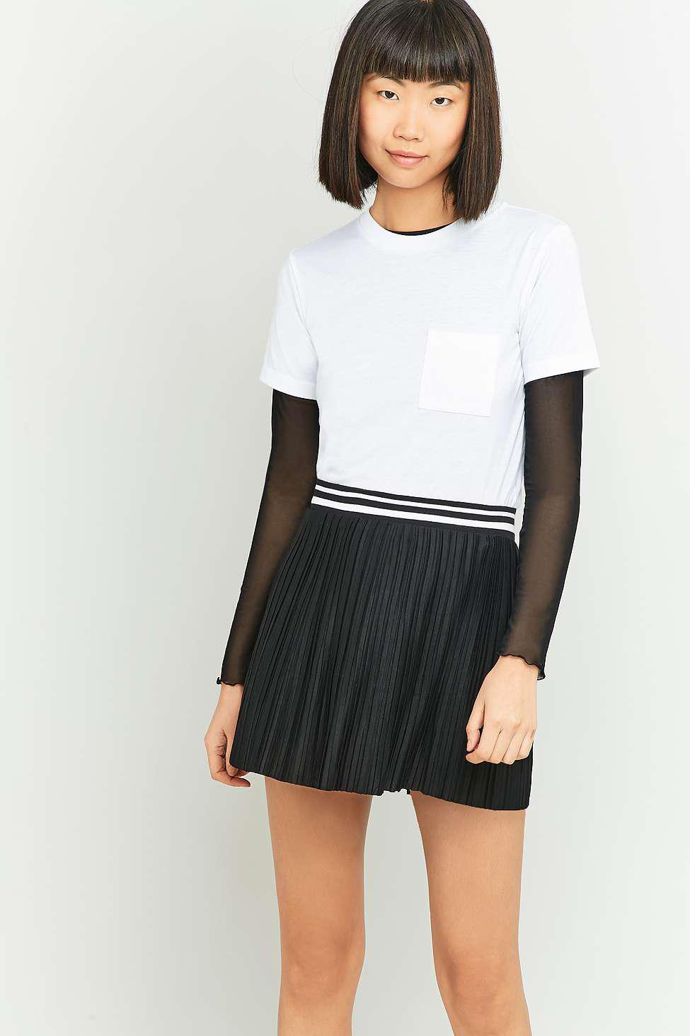 4106228d83 Urban Outfitters Urban Outfitters Sporty Pleated Super Mini Skirt ...