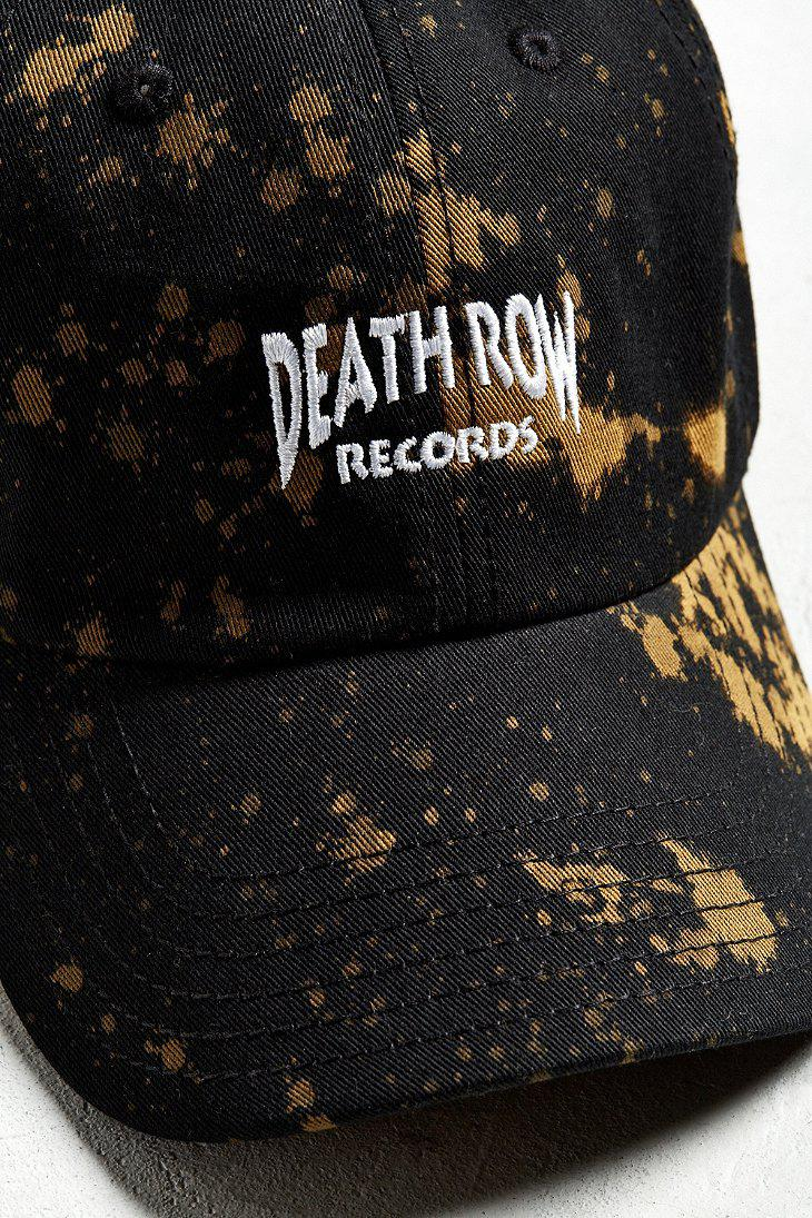 71d06b797ebe1 Urban Outfitters Death Row Records Baseball Hat in Black for Men - Lyst