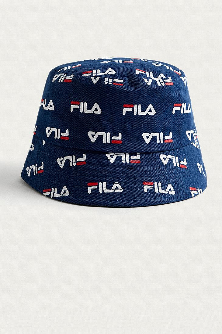 ... greece fila bucket hat in blue lyst d0cf5 0c0b1 4dfd6d57157e