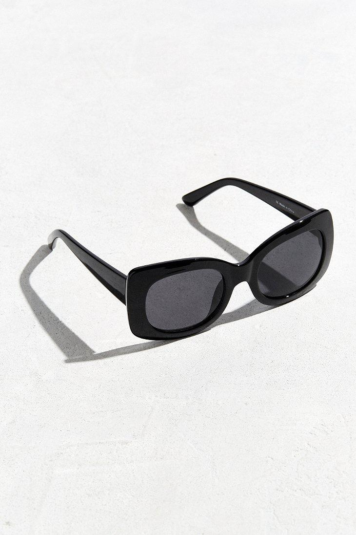 5130345da1 Lyst - Urban Outfitters Chunky Square Sunglasses in Black for Men