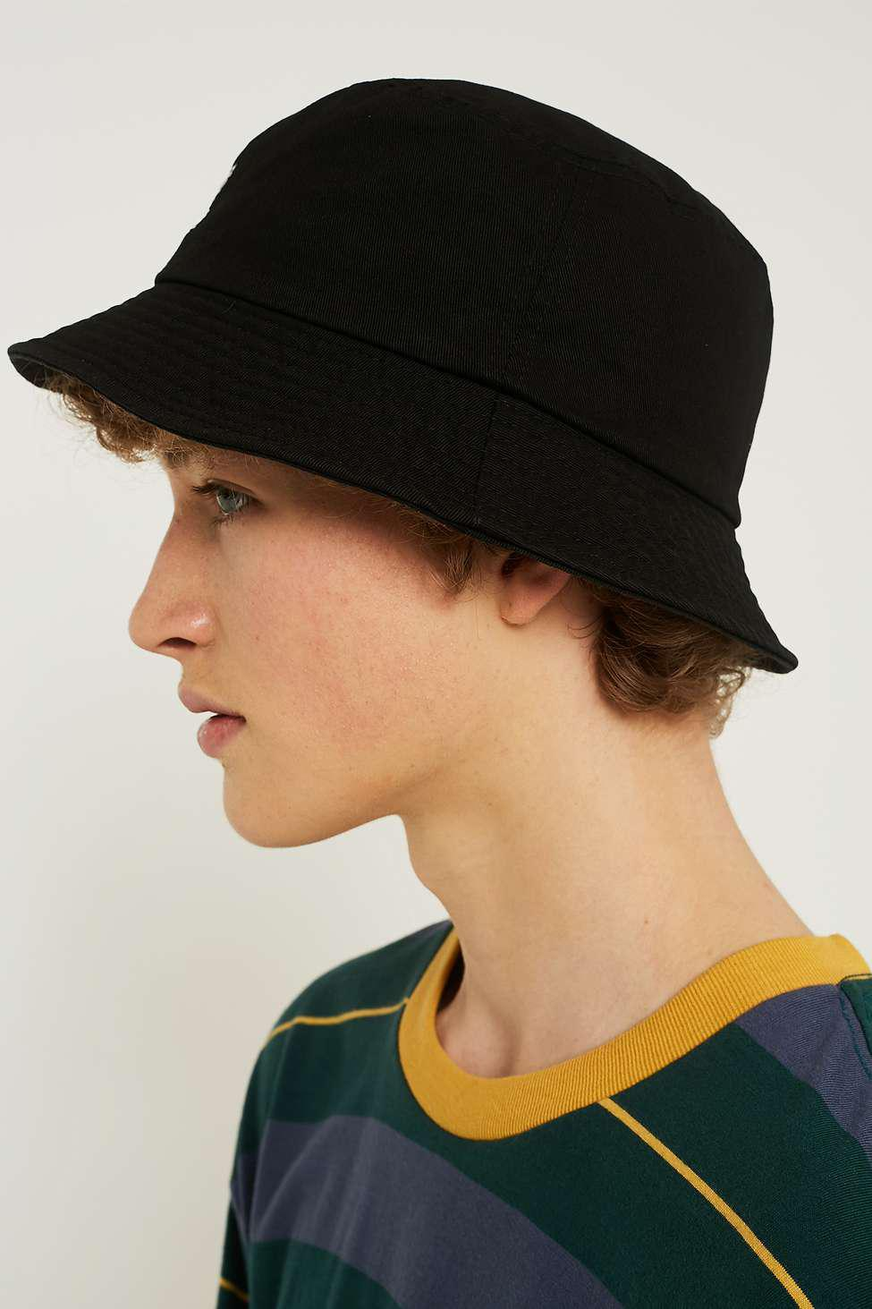 Kangol Washed Black Bucket Hat - Mens M in Black for Men - Lyst 4f689f10848