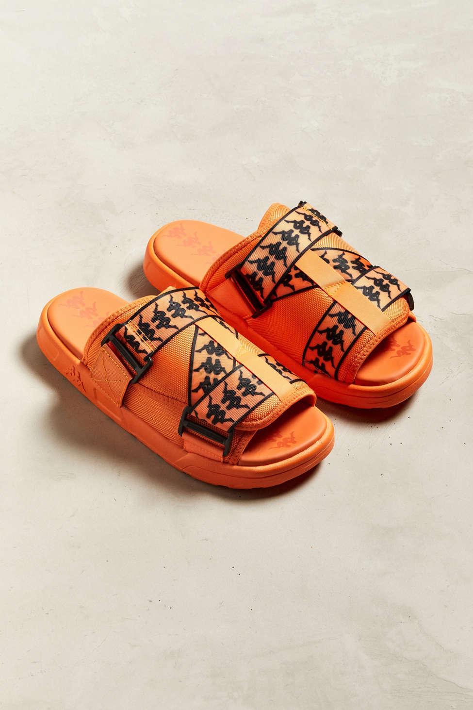 84206721939e Kappa - Orange Banda Mitel 1 Slide Sandal for Men - Lyst. View fullscreen