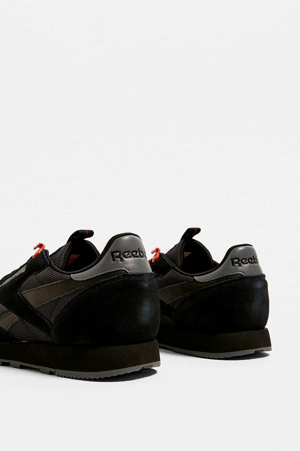 6f7c994671c5 Reebok Classic Black And Carotene Trainers - Mens Uk 8 in Black for .